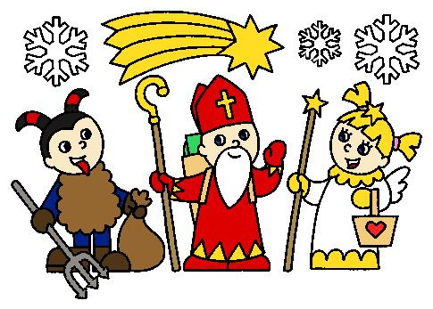 """Image result for kreslený mikuláš"""""""